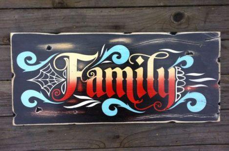 Family - Love - Strength - Unity
